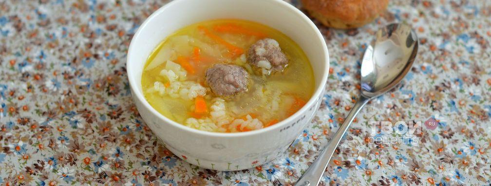 Рисовый суп - Рецепт