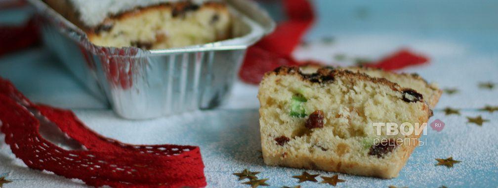 Рождественский творожный кекс - Рецепт