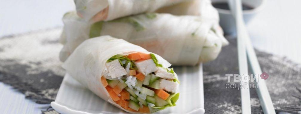 Рулет из овощей - Рецепт