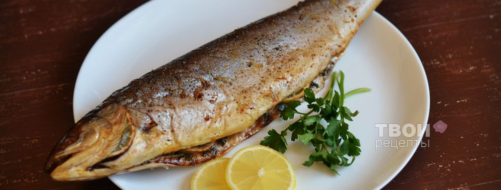 Рыба на соли - Рецепт