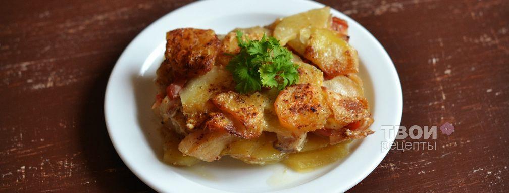 Рыба с картофелем - Рецепт