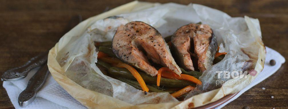 Рыба с овощами - Рецепт