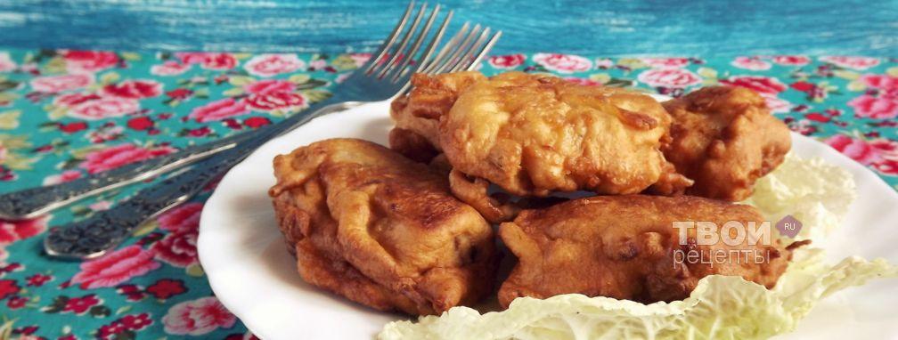 Рыба жареная в тесте - Рецепт