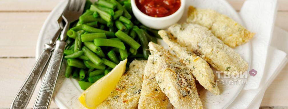 Рыбные палочки - Рецепт