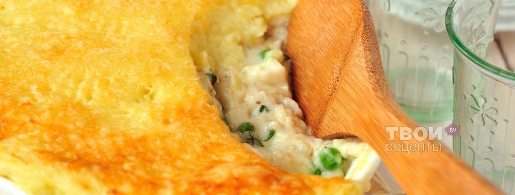 Рыбный пирог-запеканка - Рецепт
