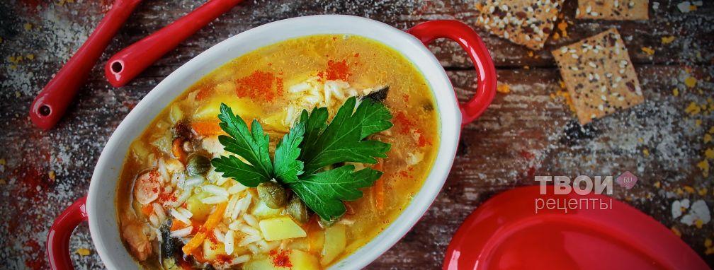 Рыбный суп из сайры - Рецепт