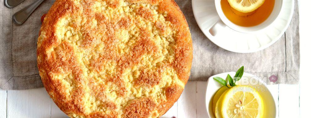 Сахарный пирог - Рецепт