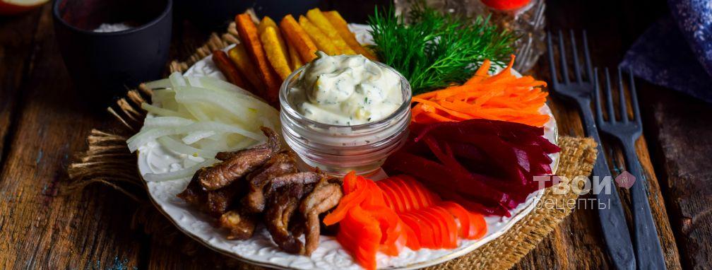 Салат чафан - Рецепт