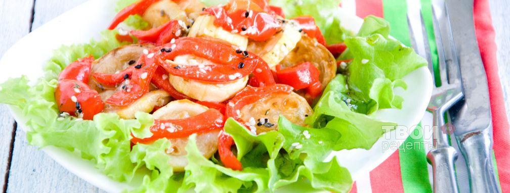 Салат из кабачков - Рецепт