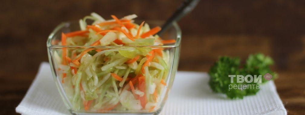 Салат из капусты с перцем - Рецепт