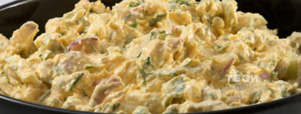 Салат из редиски - Рецепт