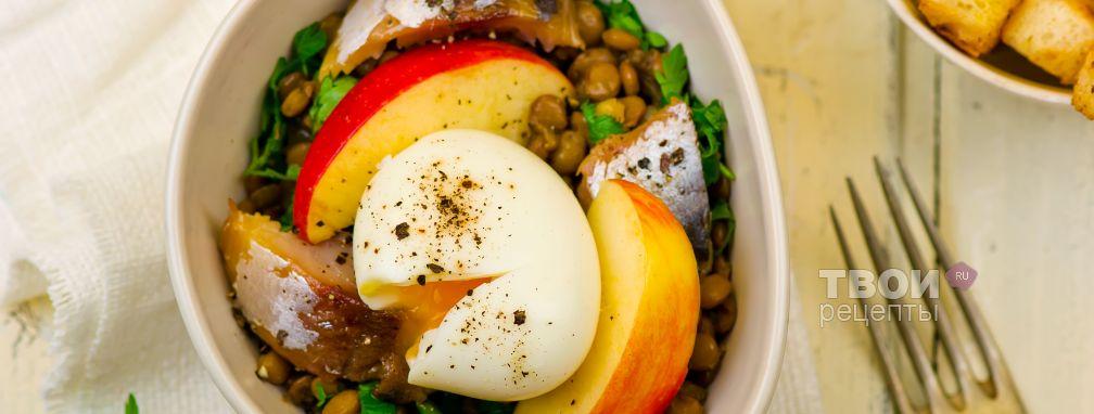 Салат из скумбрии - Рецепт