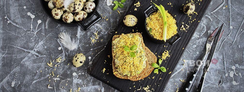 Салат из яиц и лука - Рецепт