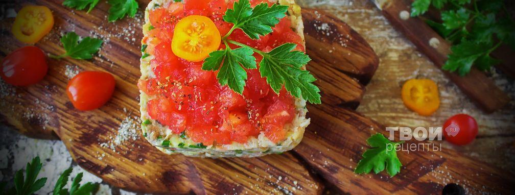 Салат купеческий - Рецепт