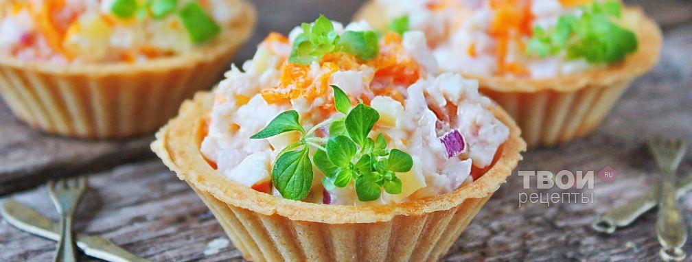 Салат куриный - Рецепт