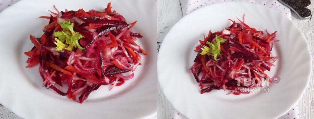 """Салат """"Цветной"""" - Рецепт"""