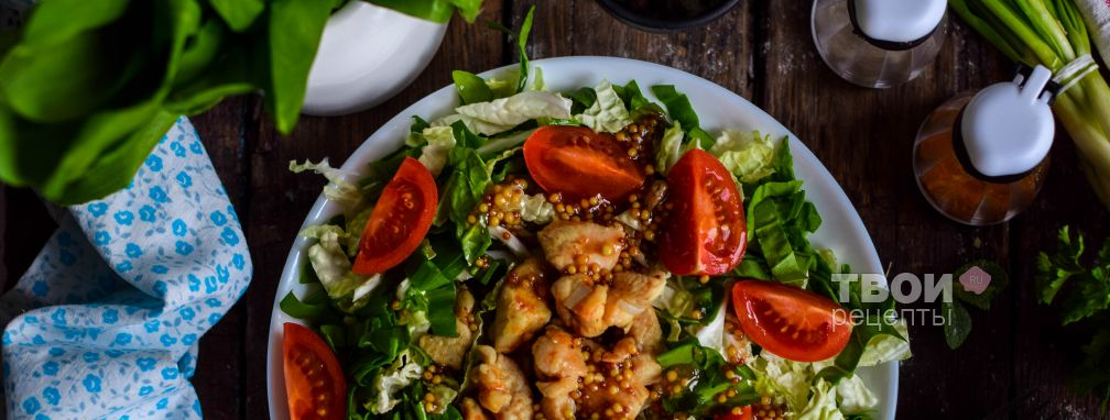Салат с китайской капустой - Рецепт