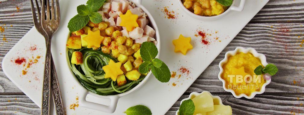 Салат с куриным филе - Рецепт