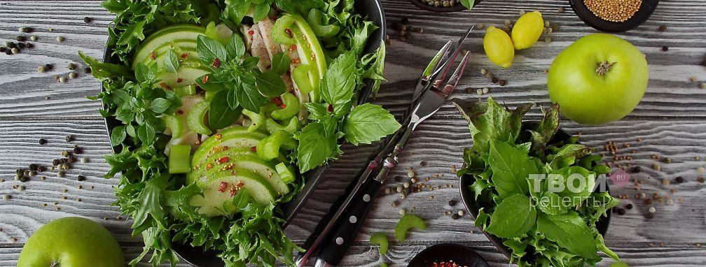 Салат с курицей и сельдереем - Рецепт