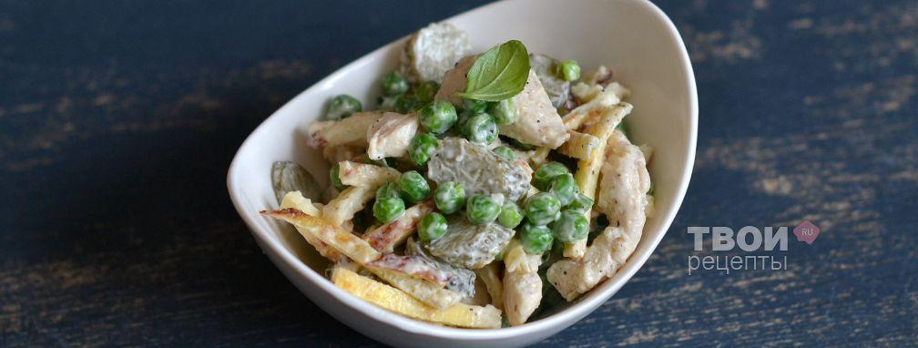 Салат с курицей - Рецепт