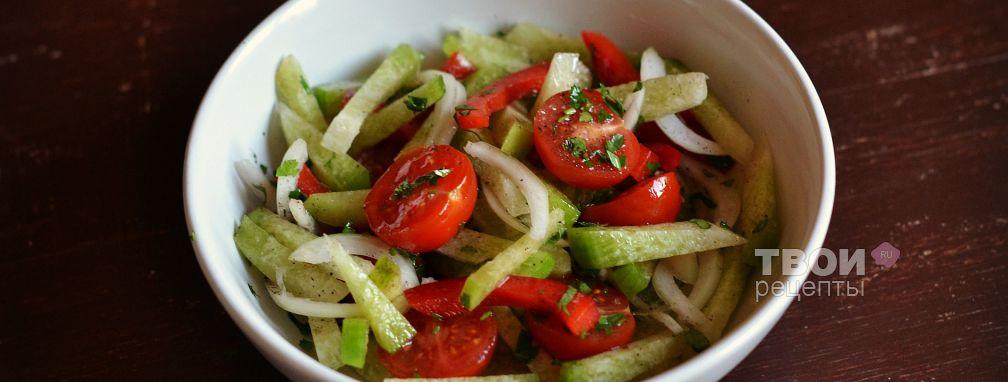 Салат из редьки зеленой - Рецепт