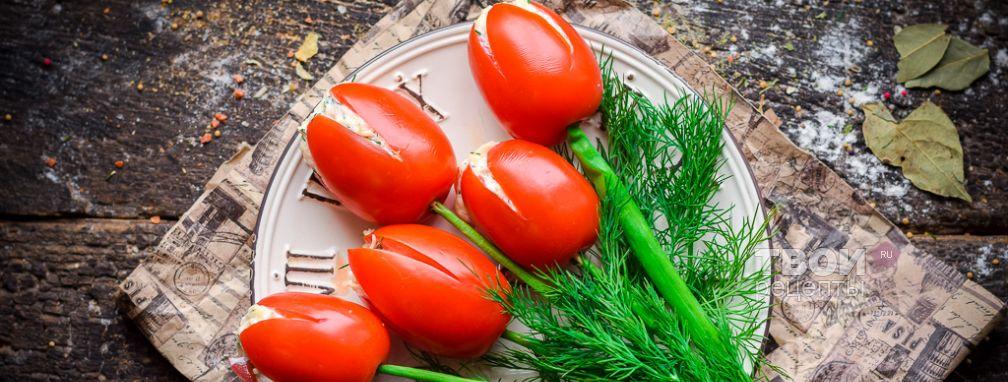 Салат тюльпаны - Рецепт