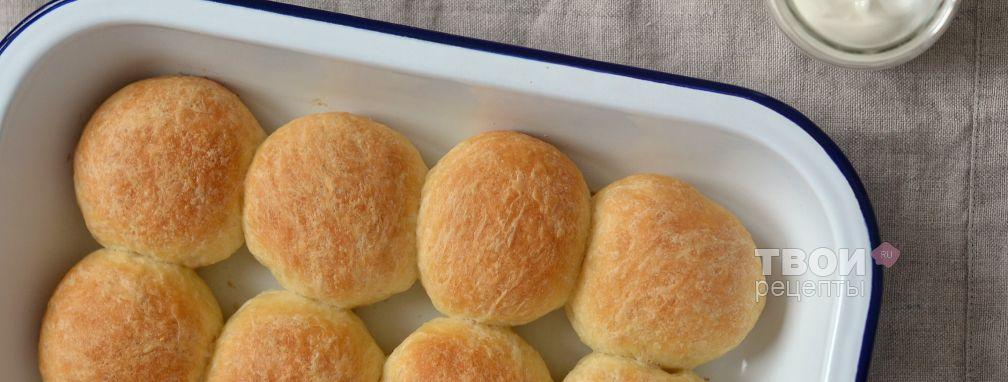 Сдобные булочки - Рецепт