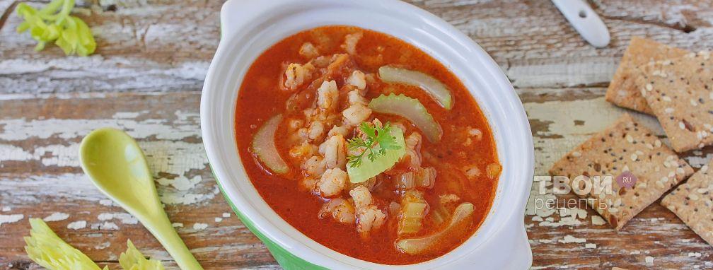Сельдереевый суп - Рецепт