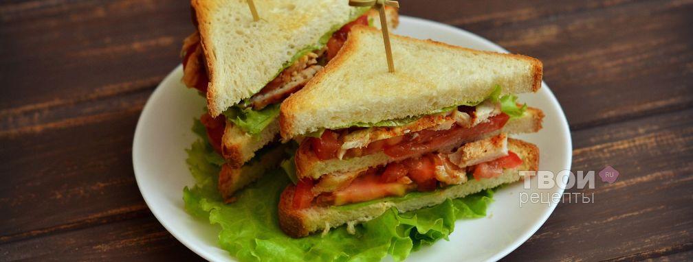 Сэндвич - Рецепт