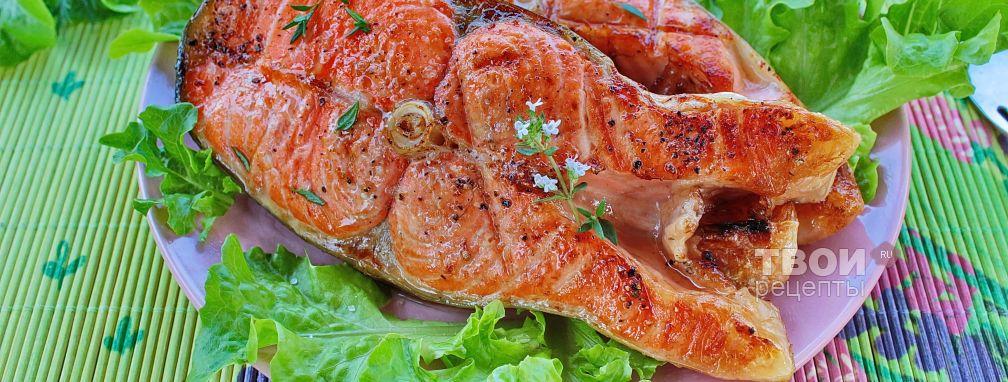 Шашлык из рыбы - Рецепт
