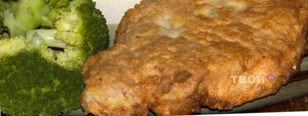 Шницель из свинины - Рецепт