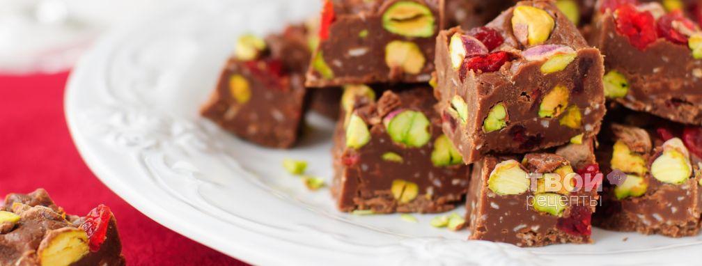 Шоколадная помадка - Рецепт
