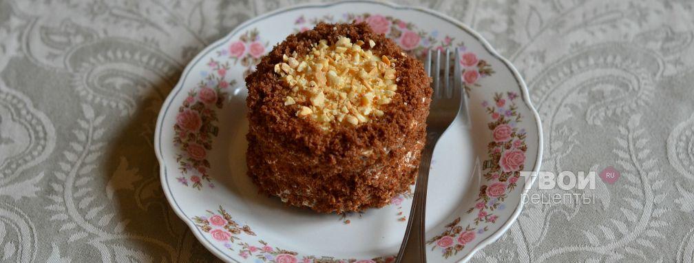 Шоколадное пирожное - Рецепт