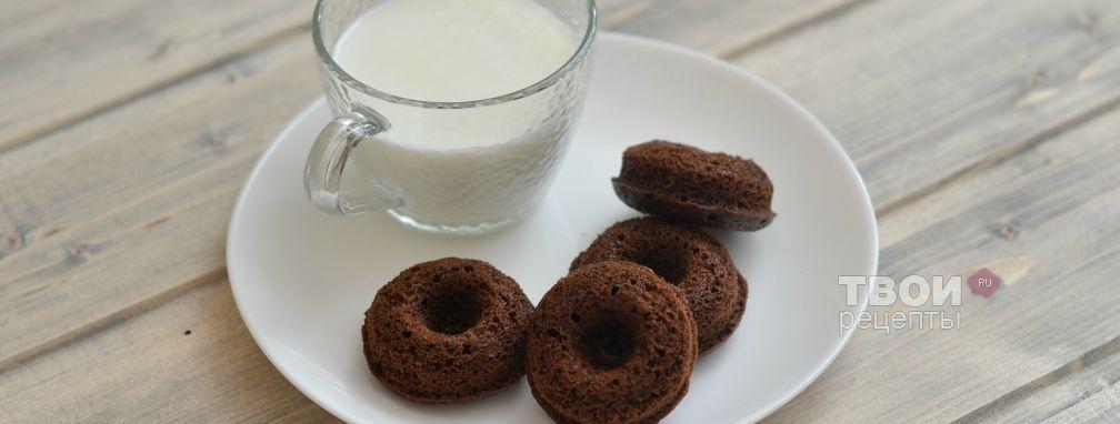 Шоколадные донатс - Рецепт