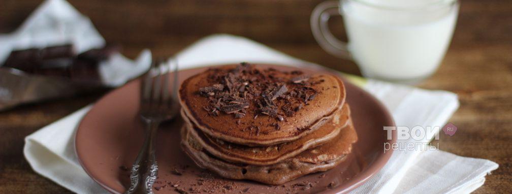 Шоколадные панкейки - Рецепт