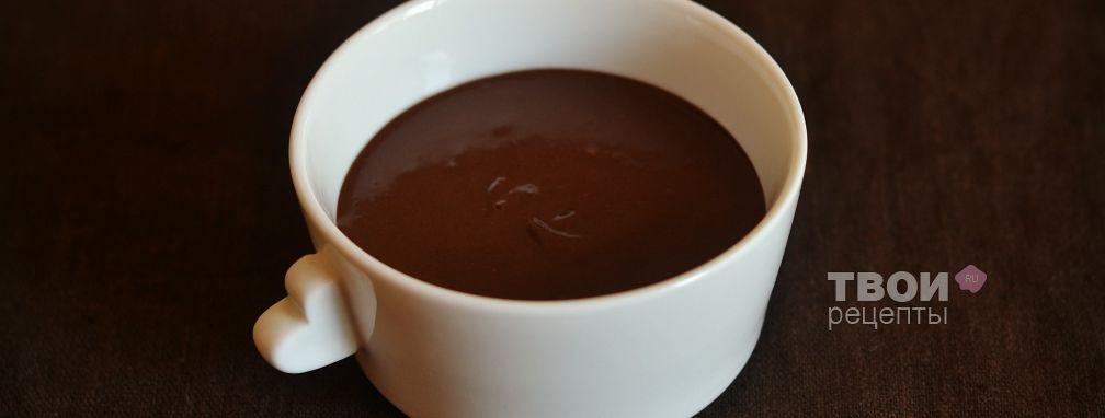 Шоколадная глазурь - Рецепт