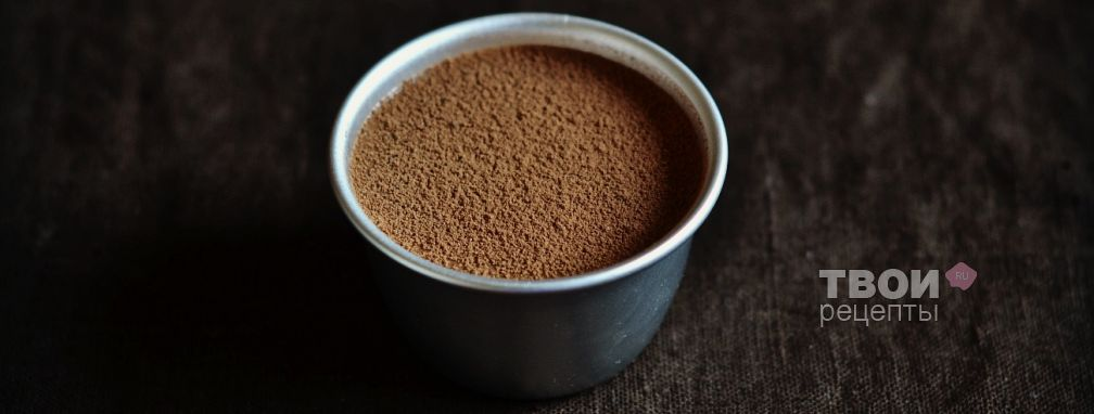 Шоколадный мусс - Рецепт