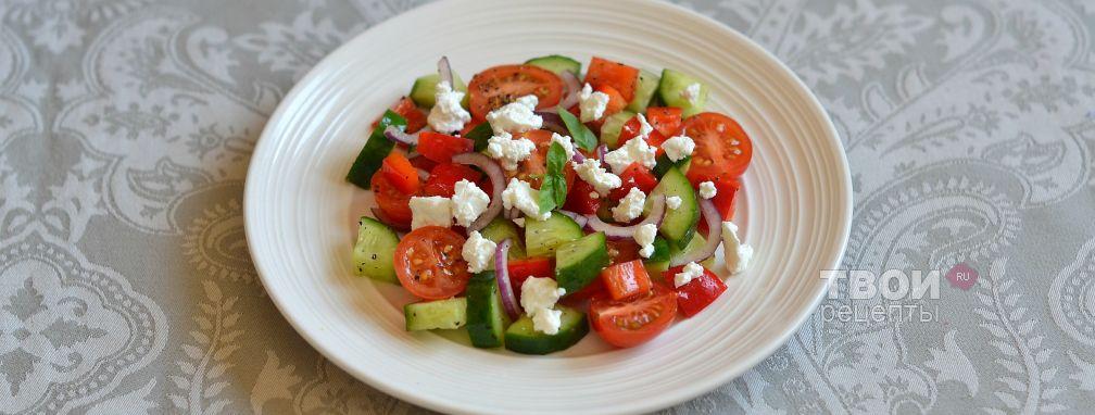 Шопский салат - Рецепт