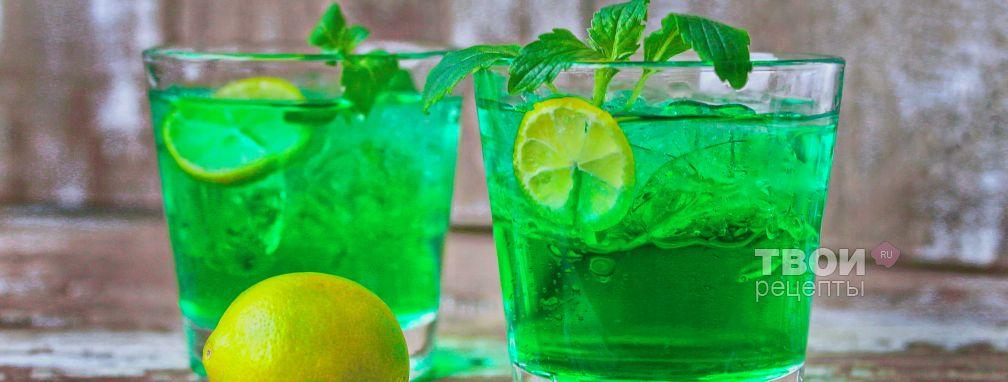 Шот Зеленая Фея - Рецепт