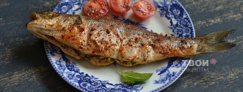 Сибас по-мароккански - Рецепт