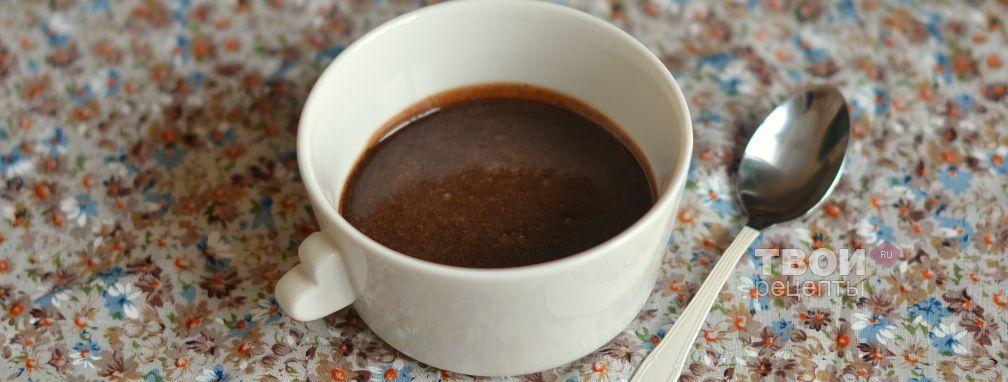 Сливочно-шоколадный соус - Рецепт