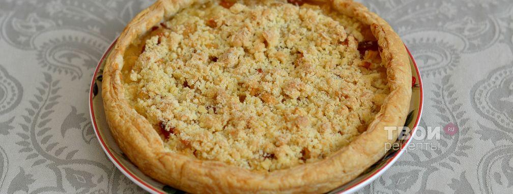 Слоеный яблочный пирог - Рецепт