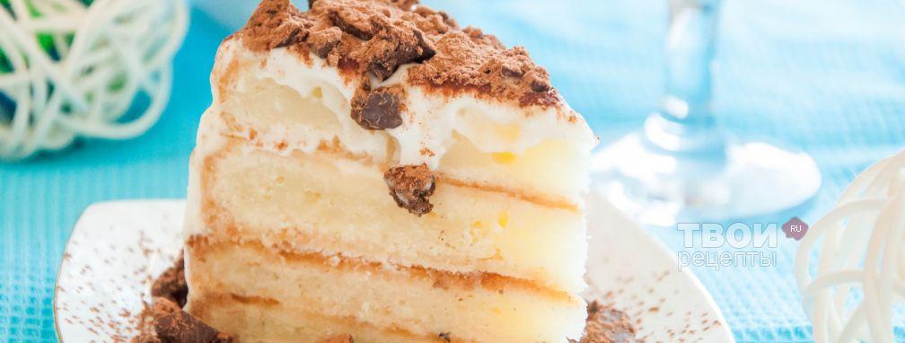 Сметанный торт - Рецепт