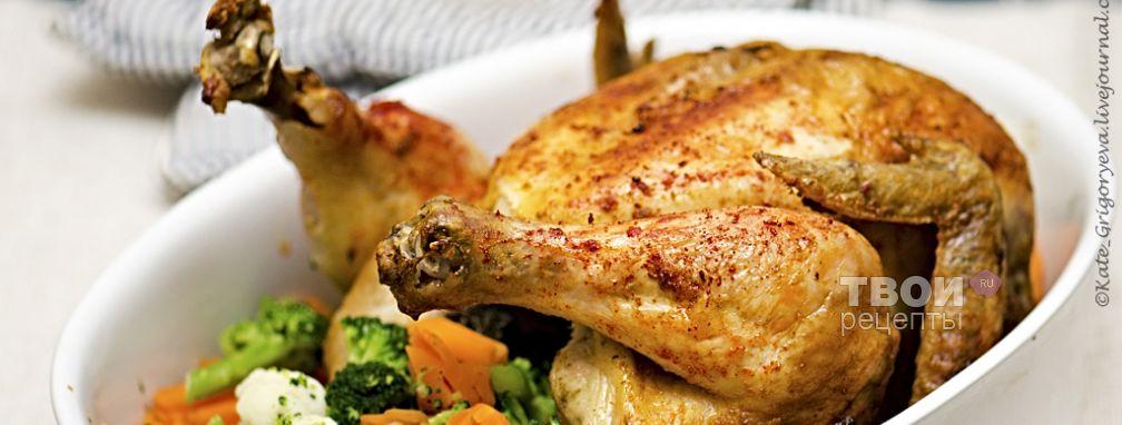 Сочный цыпленок - Рецепт