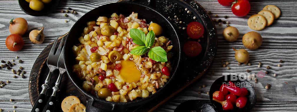 Солянка с картошкой - Рецепт