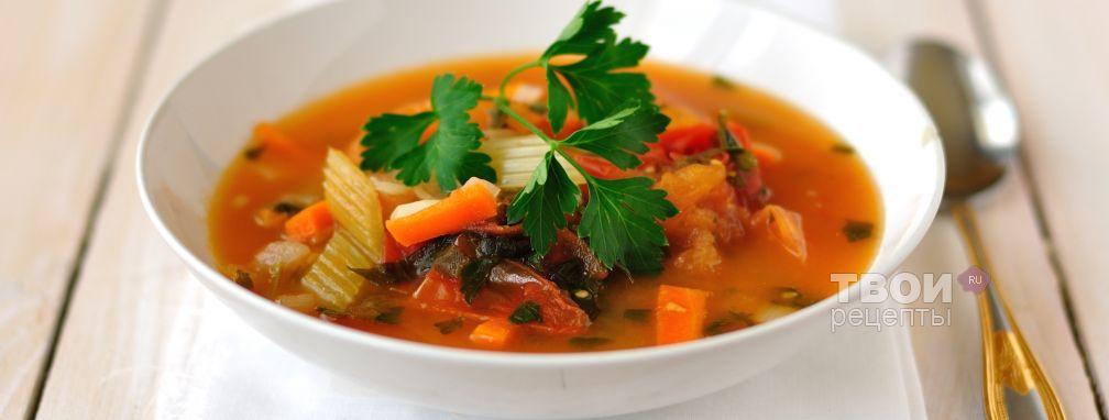Суп из форели с помидорами и чили - Рецепт