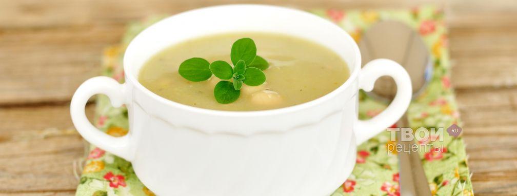 Суп из кабачков с фасолью - Рецепт