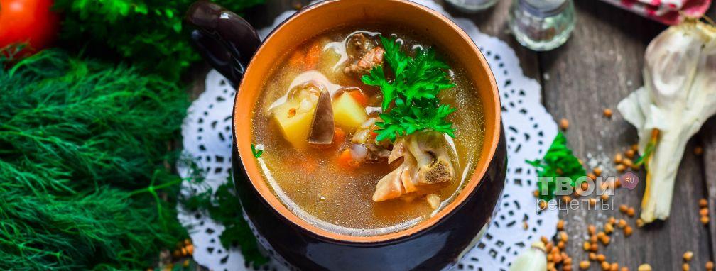 Суп из куриных сердечек - Рецепт