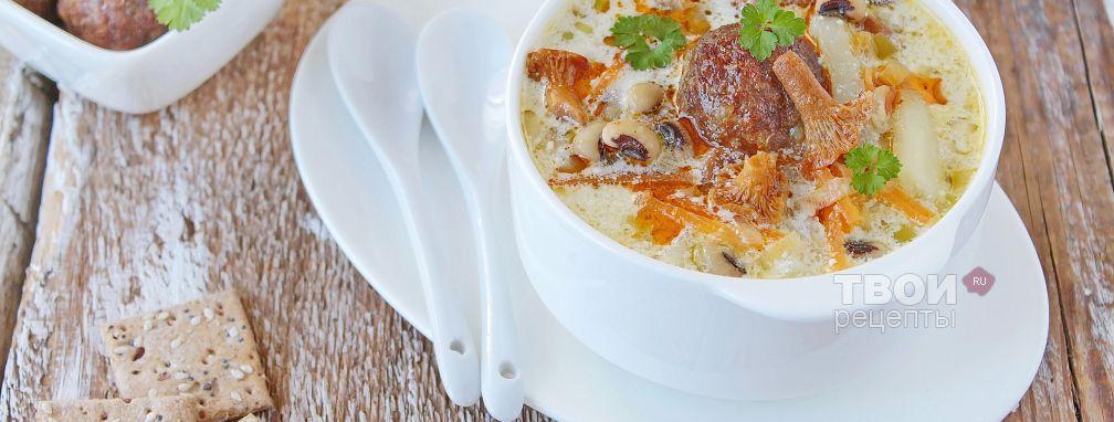 Суп из лисичек - Рецепт