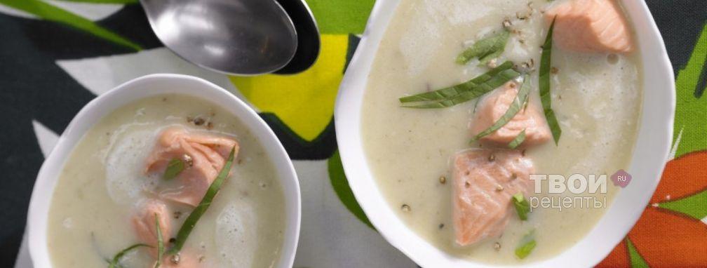 Суп из лосося - Рецепт